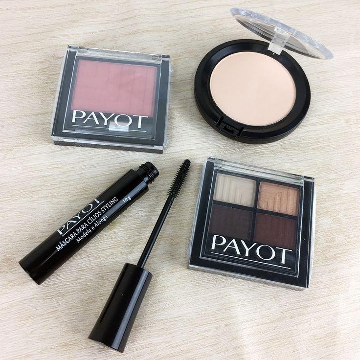 A partir de agora você encontra no nosso site vários produtinhos da Payot, maquiagens hipoalergênicas que vão realçar toda a sua beleza.