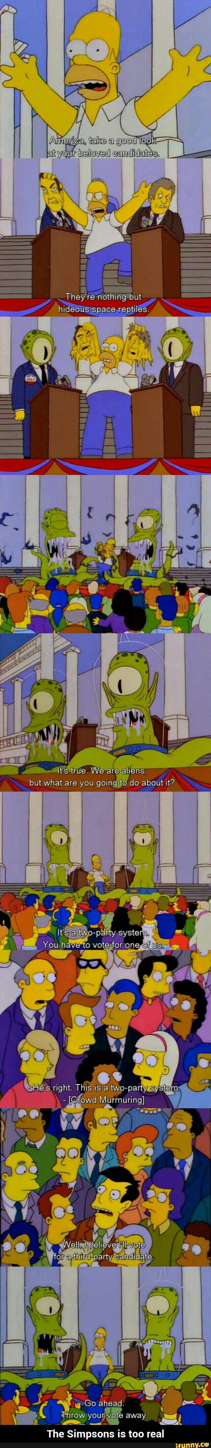 The Simpsons is too real