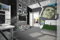 pokój młodzieżowy dla chłopaka czarny - Szukaj w Google