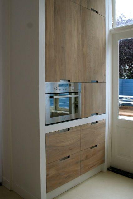 ... over Eiken Keukens op Pinterest - Kasten, Keukens en Keukenkasten