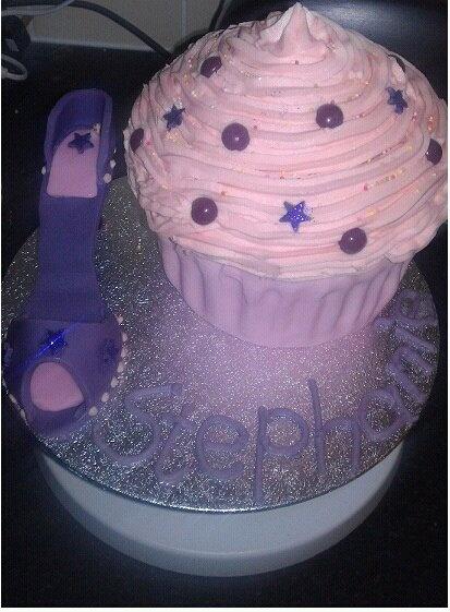 Shoe Cake :)