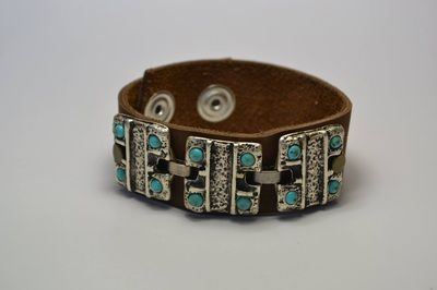 Atzec Turquoise #bracelet #fashion #studswagon