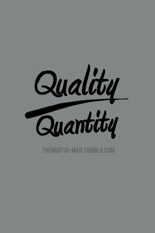 36 best images about Quality Over Quantity Products on Pinterest ...