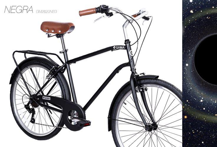 Para Ellos! Nueva City Commuter Negra de nuestra reciente colección 2015 #bici #urbano #negra #matte #gamabikes