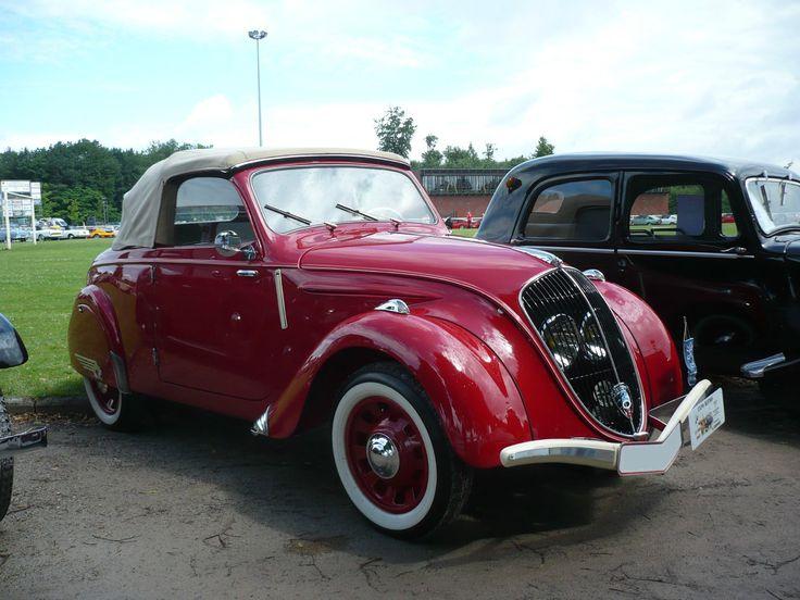PEUGEOT 202 cabriolet 1938