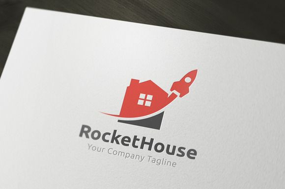 Rocket House by Super Pig Shop on @creativemarket