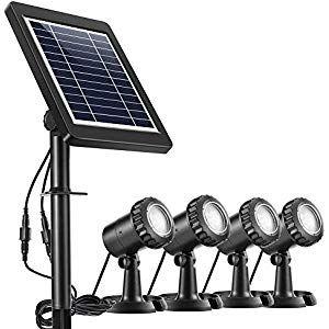 Ankway Luce Solare da Esterno Faretti Lampada Solare