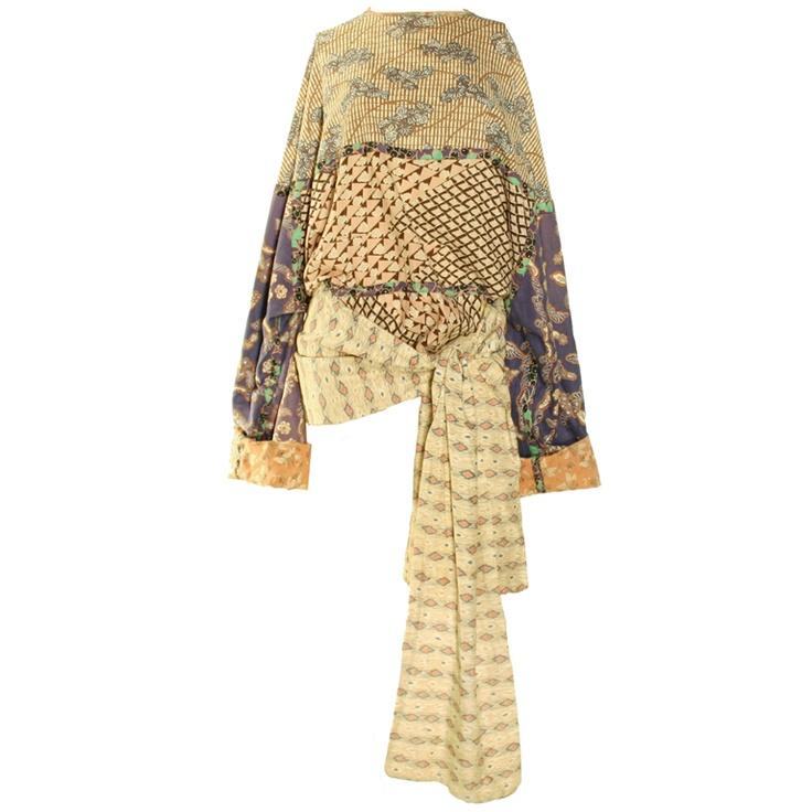 1980's Koos van den Akker Kimono Top