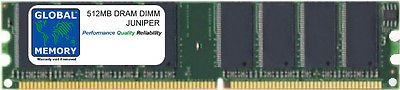 512MB DRAM DIMM RAM FOR JUNIPER J2320 ROUTER (J2300-MEM-512M  J2300-MEM-512M-S)