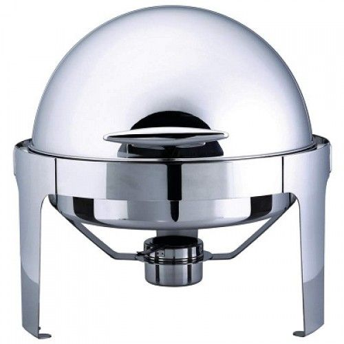 ROUND CHAFFING DISH ROLL TOP