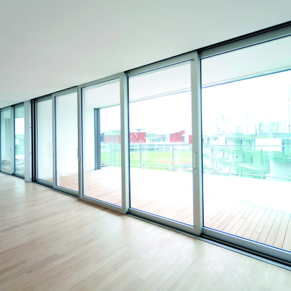 MSF Reynaers. Thermally broken windows and doors. Great architecture and interior design. Sliding doors.