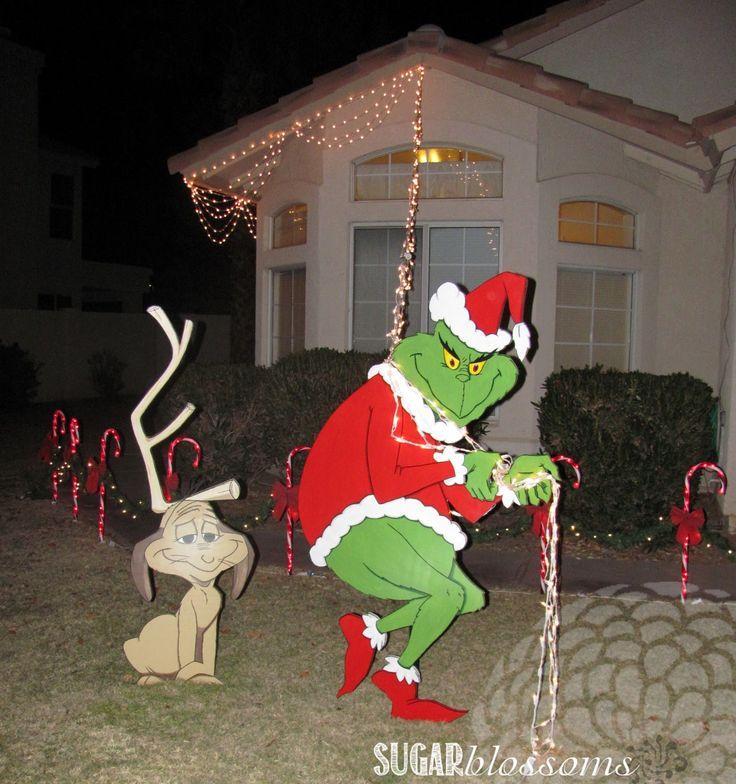 ... GRINCH CHRISTMAS SWEATER SZ M/L LIGHTS UP FOO Teresa Bramlett  (teresahbramlett) on Pinterest ... - Grinch Christmas Lights Homei.foreignluxury.co