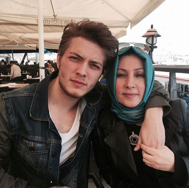 Burak and his mom