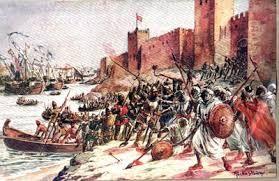 04 – Después de la Reconquista, el espíritu de conquista y cristianización de los pueblos musulmanes se mantuvo. Batalla de Ceuta 1415