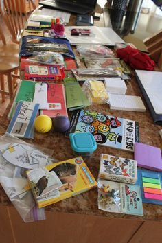 Substitute teacher bag of tricks