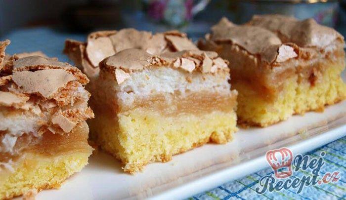 Trochu náročnější koláč na suroviny, ale chuť je famózní. Jablka a kokosová perníky. Autor: Naďa I. (Rebeka)