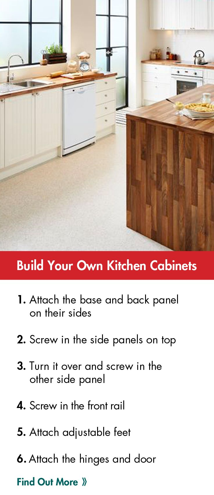 Who's thinking of revamping their kitchen? #Easter #DIY