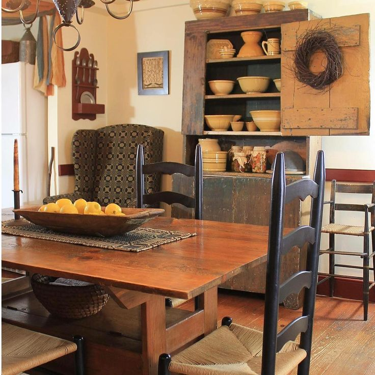 Find This Pin And More On Dining Room Colonial Prim Style By 1NanaMo4