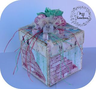 Jazz Creations: Lawendowy box