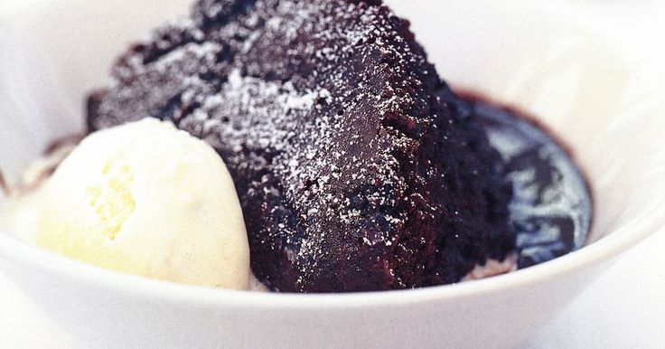 Traditionally a winter dessert, this rich warm chocolate pudding can be enjoyed any time of year.