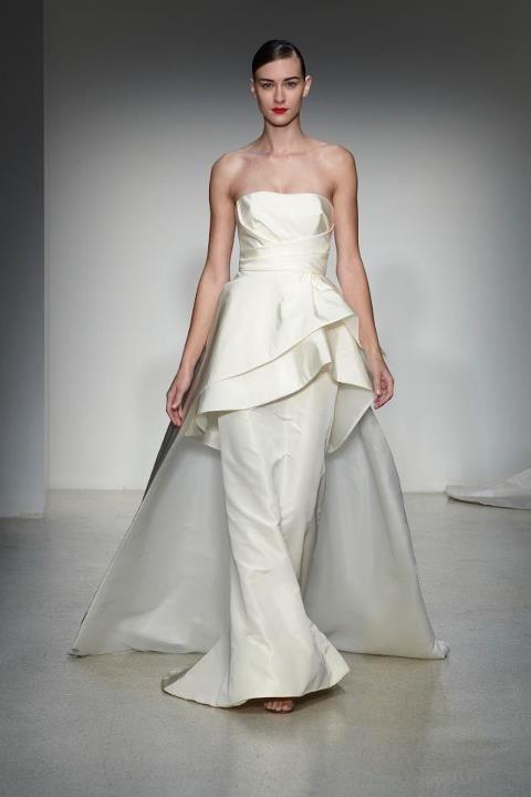 17 Best Images About Designer Amsale Bridal On Pinterest