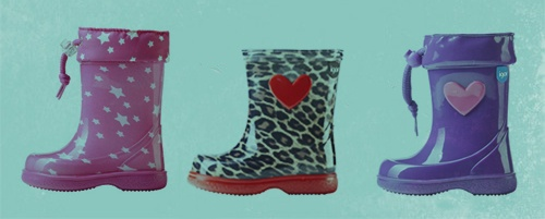#igorkids #igor #kids #rainboots #water #cloud, #botas #agua #niños #coleccion #invierno #2013 #colour #color #leopard