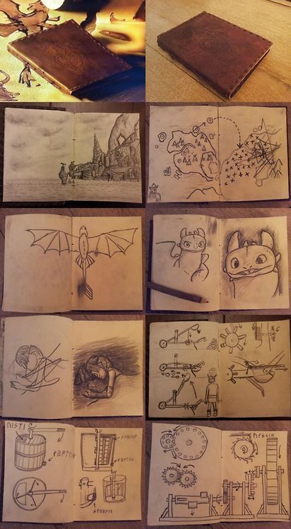 Hiccup S Cool Journal My Most Favorite Is The Sketching