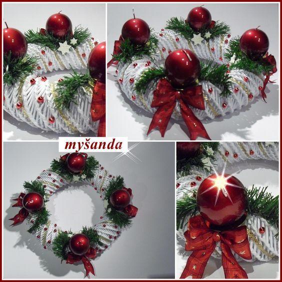 moje tvořeníčko - Fotoalbum - PLETENÍ Z PAPÍRU 2011 - vánoční pletení z papíru 2011: