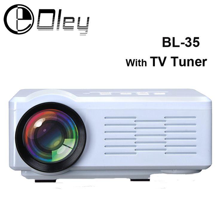 Original OLEY BL-35 TV Projector Pico LED Home Cinema Proyector USB SD AV HDMI Projector 1000Lumens HD 3D Multimedia Projector #Affiliate