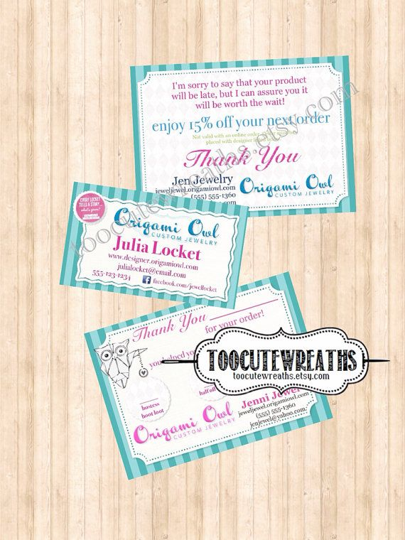 22 best cute owl business cards images on pinterest visit cards buy 3 consultant digital download business card back order postcard thank you bag tag origami owl inspired colourmoves