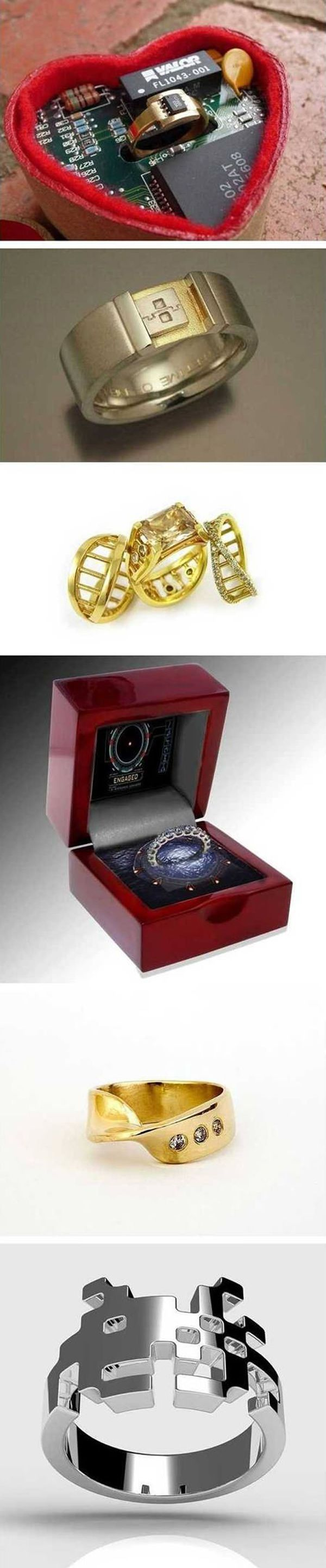 Geek Wedding Ring!
