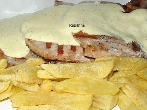 Receita Costeletas de porco com molho de mostarda, de Ratolinha - Petitchef