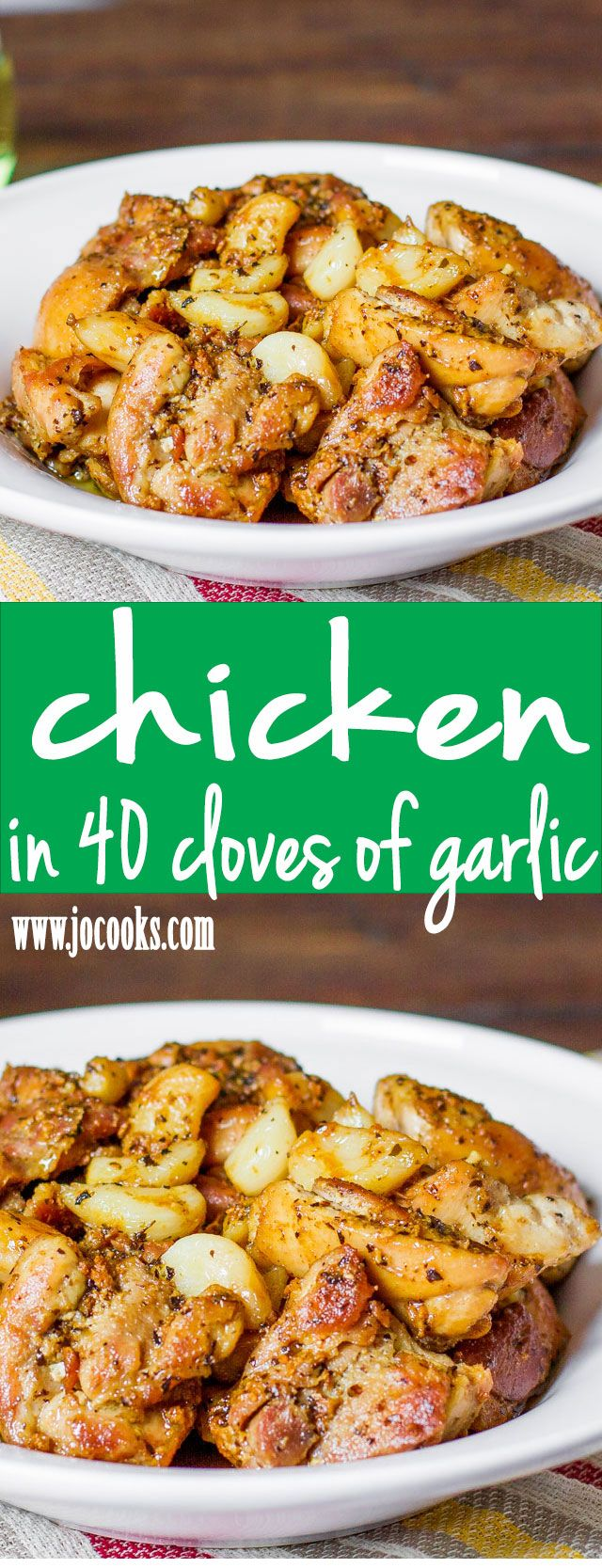 Chicken with 40 Cloves of Garlic | Recipe | Vegetables, Olives and ...