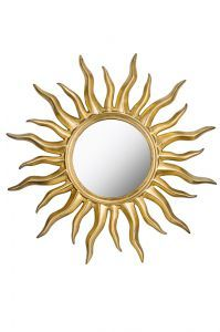 """Декоративное зеркало """"Солнечное сияние"""" (золото)"""