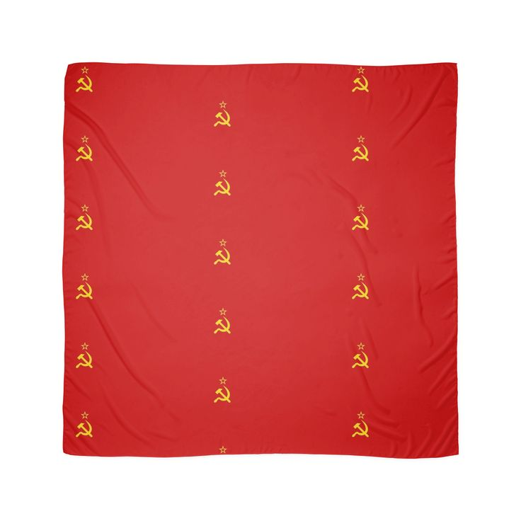 Flag of the Soviet Union Scarves