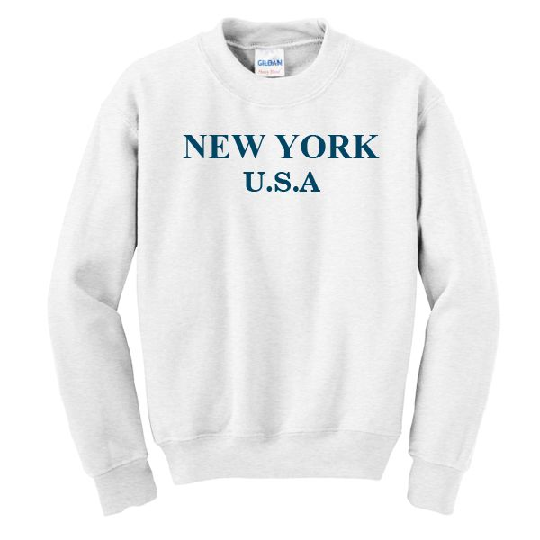 New York USA Sweatshirt