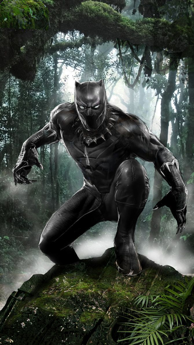 """bear1na: """"Black Panther by John Gallagher * """""""