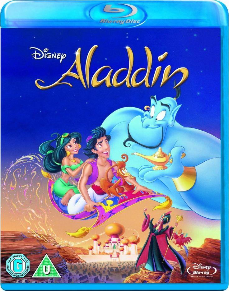 Aladdin (Blu-ray), UK import