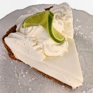 I have a Key Lime Pie OBSESSion -- this one from Cook's Illustrated. Amazing every time. Whipped creme fraiche with powdered sugar for the topping.