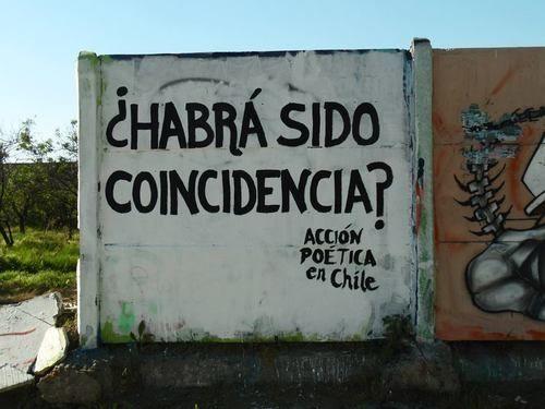 ¿Habrá sido coincidencia? #Acción Poética Chile #accionpoetica