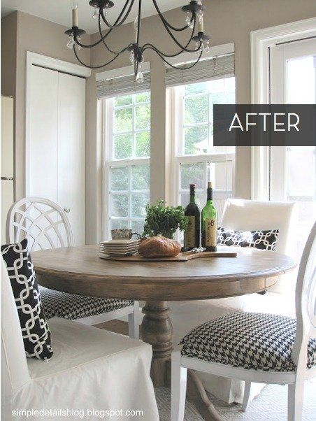 Fresh Dining Table Set Makeover168 best Kitchen Table Makeovers images on Pinterest   Kitchen  . Dining Room Set Makeover. Home Design Ideas