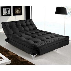 •Sofá-cama super versátilO sofá-cama casal Versátil possui cinco posições: sofá, chaise, cama e mais duas. Na posição de sofá acomoda até 4 pessoas, e na posição de cama 2 pessoas.•Sofá-cama confortávelFeito com espuma D-26, tecido de acabamento em veludo super macio e sem emendas, não incomoda você ao deitar no sofá-cama Versátil na posição cama.•Estrutura rígidaSofá-cama produzido com madeira de reflorestamento, pés em alumínio polido, persinta elástica e molas, e para a mudança das…