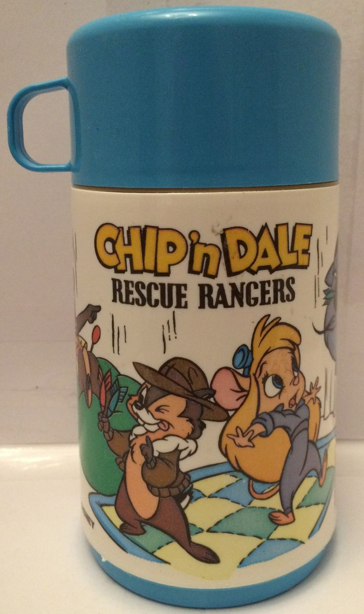 (TAS013384) - Disney Aladdin Chip 'N Dale Rescue Rangers Thermos