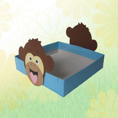 Trakteerdoos aap