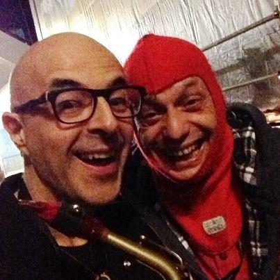 Col meccanico della Ferrari!!!!