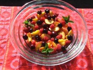 Central Otago Fruit Salad with Manuka Honey Yoghurt