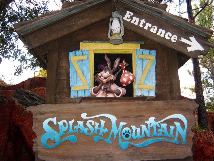 Splash Mountain sign | Disney World Magic Kingdom Fun ...