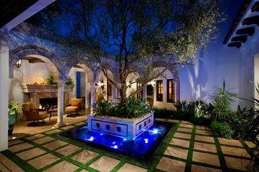A Spanish Revival/ Spanish Colonial - Mediterráneo - Patio - Orange County - de South Coast Architects, Inc.
