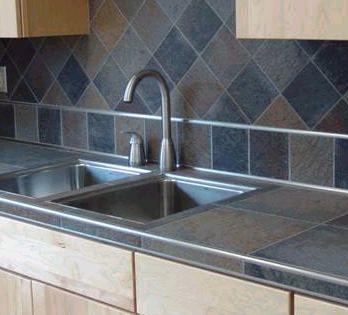 Porcelain Tile Countertops : Tile Countertops For Kitchen Ideas .