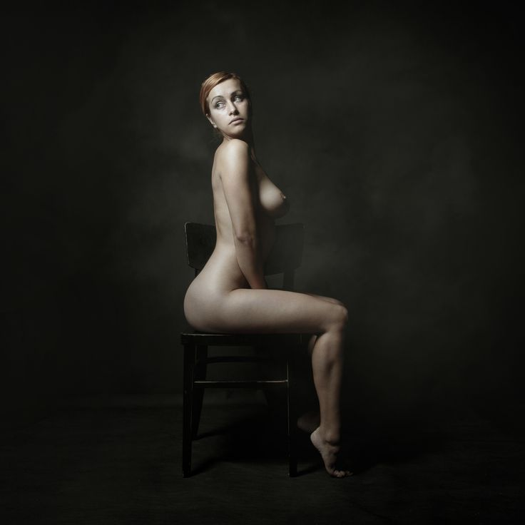 nude women on chairs